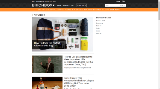 BirchBox Reciprocity