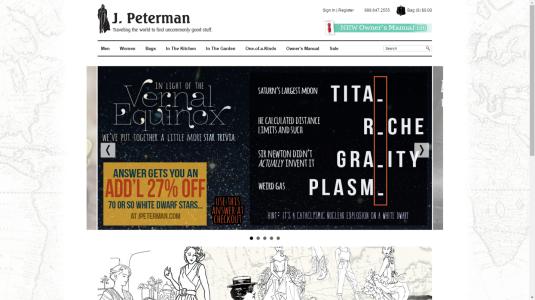 J Peterman Commitment