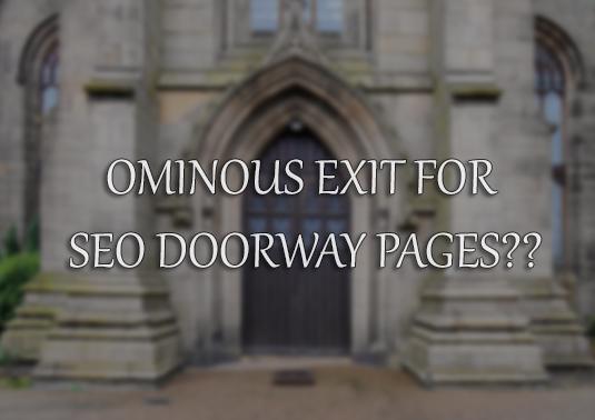 SEO Doorway Page Update