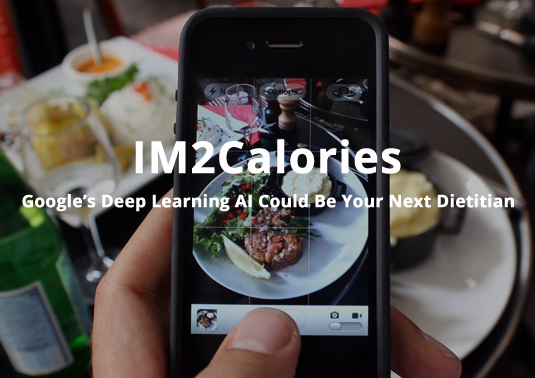 IM2Calories Google Deepmind AI