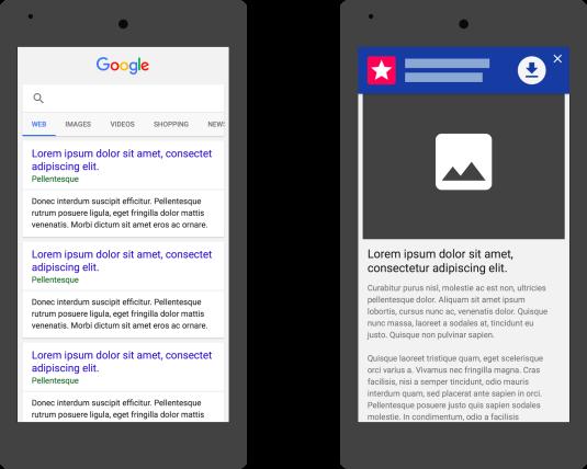 Google prefers Smart banner for app installs