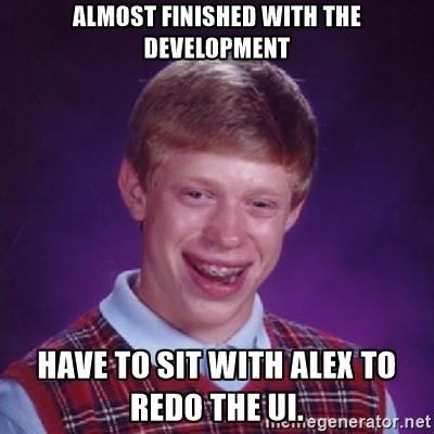 an UI meme