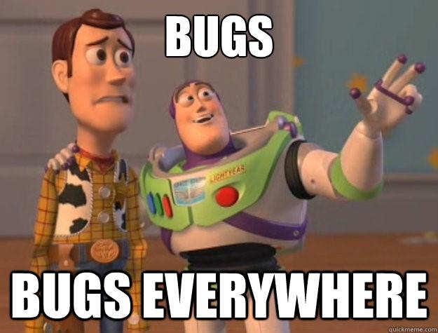 code bugs meme