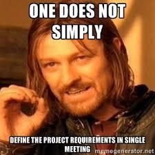 project requirement meme