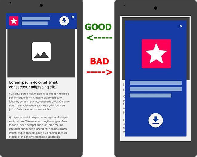 Ill effects of app intestitials