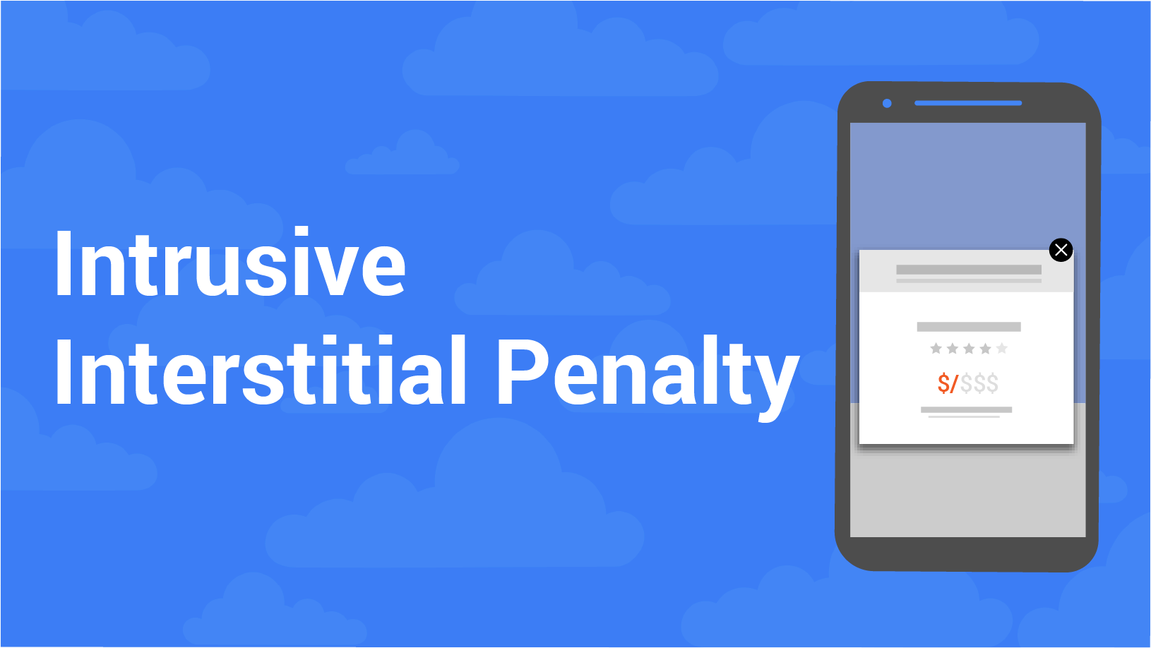 Google intrusive interstitial penalty update